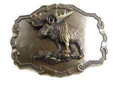 Vintage Moose Belt Buckle 72517