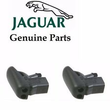 Jaguar X-Type 2002-2007 2 X Windshield Window Washer Nozzle GENUINE C2S16868