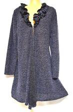 Plus Sz XS / 14 TS Taking Shape Ruffle Cardy Soft Light Comfy Jacket RP