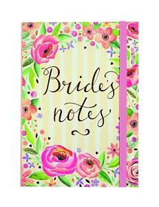 Wedding Planner Brides Notebook Floral Design Wedding Engagement Gift NEW