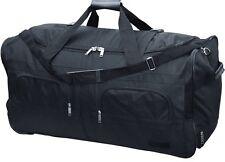 XL Reisetasche 100L schwarz Trolley Tasche Koffer Sporttasche Reisekoffer Case