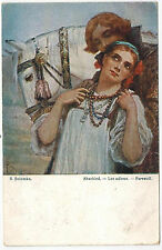 Art of Russian Artist Solomko, Farewell, issued by T.S.N. #12, 1910s