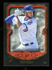 2017 Topps Museum Collection KRIS BRYANT Red Gold 9/50 Chicago Cubs