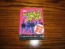 1990 Topps NEW KIDS ON THE BLOCK Series 2 - UNOPENED PACK!! Trading Cards!