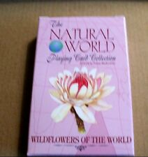 Wildflowers of the Natural World Playing Cards