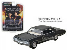 1967 CHEVROLET IMPALA BLACK 4 DOORS SUPERNATURAL SERIES 1/64 GREENLIGHT 44692