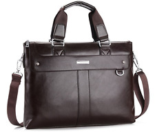 Men's Genuine Leather Bag Messenger Laptop Shoulder Business Briefcase Handbag