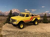 1972 Chevy K10 K20 4x4 Lifted Custom 1/64 Diecast Truck Farm Off Road 4WD Mud