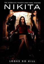 Nikita: The Complete Fourth and Final Season (DVD, 2014)