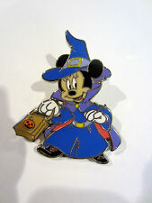 Disney Dlp Halloween Trick or Treat Pumpkin Minnie Mouse as Witch Pin