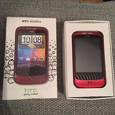 HTC Wildfire - Red (Unlocked) Smartphone