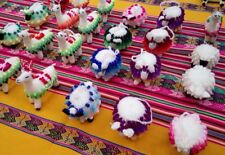 100 handmade andean animals, beers and alpacas,  4 inches approx.