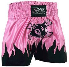 EVO Ladies Muay Thai Shorts Girls MMA Kick Boxing Martial Arts Women Fight Gear