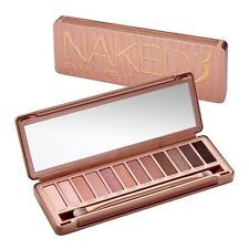 Urban Decay Naked 3 Eye Shadow Palette Brush 12 Shades
