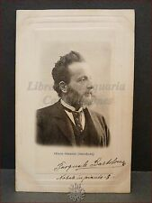 OLINDO GUERRINI (L. Stecchetti) Poeta Primi '900 Viaggiata 1904 Seminario GAETA