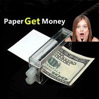 monnaie de papier d'impression les décideurs de l'argent magicien accessoires