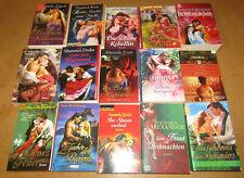 Historische Liebesromane, 15 Taschenbücher, Romanpaket Adel Liebe und mehr po819