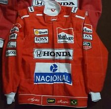 Ayrton Senna Replica/Sublimated Go Kart Jacket,  All Sizes Available