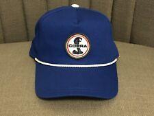 American Needle Ford Cobra Shelby Hat Baseball Cap Cappy Snapback Royal Blue NWT