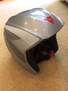 Dainese D-Tech Grey Ski Helmet JS Size 52cm