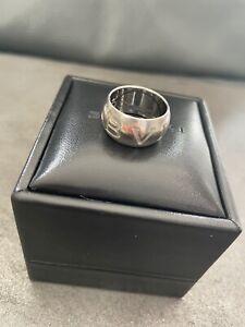 Bulgari Monologo Ring Size 52