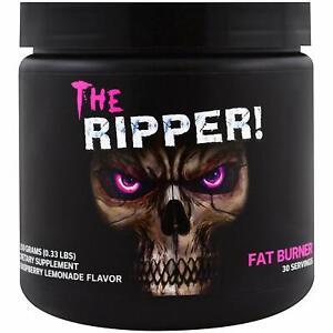 JNX Sports The Ripper! Fat Burner Dietary Supplement (Raspberry Lemonade, 150g)