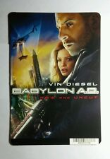 BABYLON AD A.D. DIESEL REGULAR STYLE MINI POSTER BACKER CARD (NOT A movie)