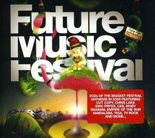 Future Music Festival (SEALED 2xCD) Moby Empire Of The Sun Tiga Tydi CSS Bodyrox