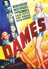 Dames ~ Dick Powell Joan Blondell Ruby Keeler ~ Rare OOP DVD B&W ~ FREE Shipping