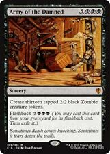ARMY OF THE DAMNED Commander 2016 MTG Black Sorcery Zombie Mythic Rare