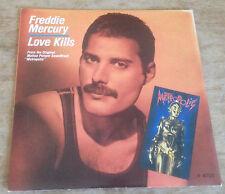 FREDDIE MERCURY love kills*rotwang's party (robot dance) 1984 UK CBS PS 45