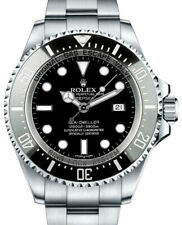 Rolex NOS Deepsea Sea-Dweller Steel Ceramic Mens Dive Watch Box/Papers 116660