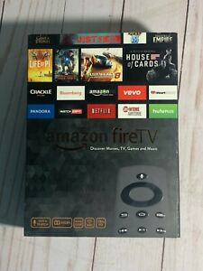 Amazon Fire TV Box 1st Generation HD Media Streamer COMPLETE Remote EXCELLENT