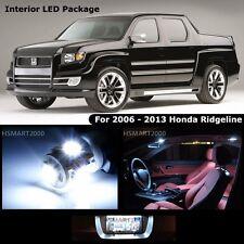 17PCS Cool White LED Bulbs Interior Package Kit For 2006-2013 Honda Ridgeline