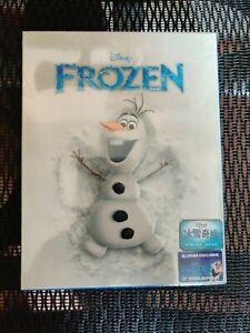 Frozen Blufans Blu-ray Steelbook, Olaf version, Mint/Sealed