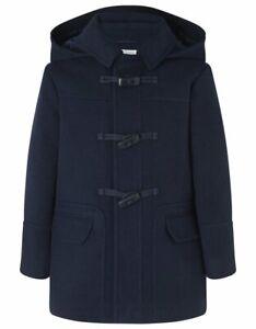 Blue Unisex Duffle coat Age 7