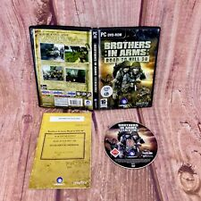 PC DVD ROM GAME Brothers in Arms Road to Hill 30  SHOOTER 2005  world war 2  16+