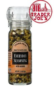 Trader Joe's Everyday Seasoning with Built in Grinder Use Trader Joe's Spices