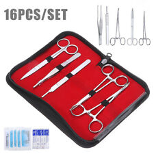 16pcs/set Complete Suture Practice Kit for Surgical Suturing Training Tool Home