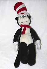 "OLD DR SEUSS CAT IN THE HAT 19"" U SHAPED PUPILS/ EYES STUFFED PLUSH"