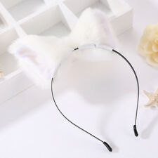 Cosplay Fur Girl Fox Cat Ears Party Costume Women Cute Headband Hairband Hoop