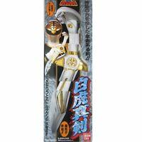Power Rangers Gosei Sentai Dairanger White Rangers Saba Sword Rea F/S w/Track#