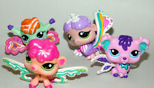 Littlest Pet Shop Fairies Lot of 4