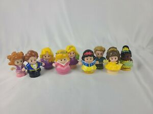 Fisher Price Little People Lot Of 9 Snow White Princess
