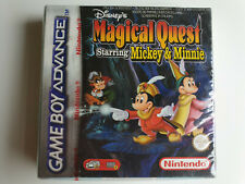 DISNEY Magical quest starring mickey mouse Game Boy Advance SEALD SOUS BLISTER