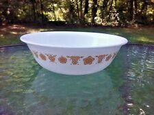 """Corelle Butterfly Gold 6.25"""" Soup Cereal 18 Ounce Bowl Dish"""