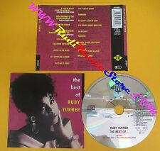 CD RUBY TURNER The Best Of 1992 Germany JIVE ZD75301 no lp mc dvd (CS4)
