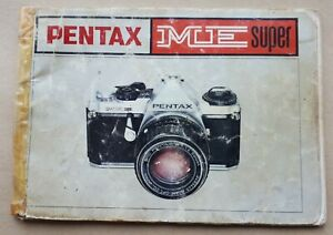 Original Instruction Manual PENTAX ME SUPER 35mm Camera, Photographic Ephemera
