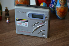 Sony Portable Recordable MDLP Minidisc Player MZ-R500 Fully Working