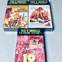 Mikels cult Ted V The Corpse Grinders STICKER vinyl HORROR exploitation